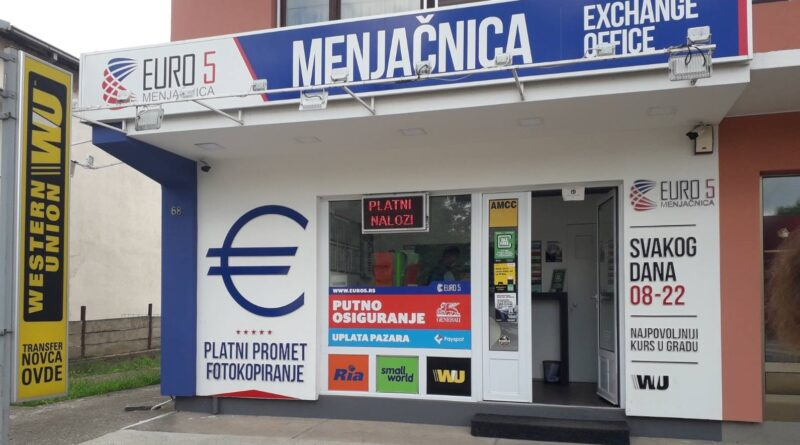 Menjacnica Euro 5 Nis