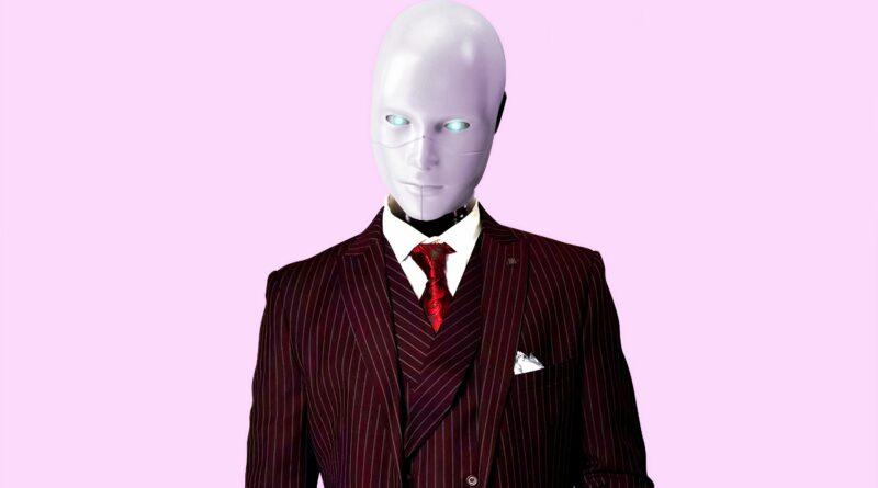 Robot u odelu