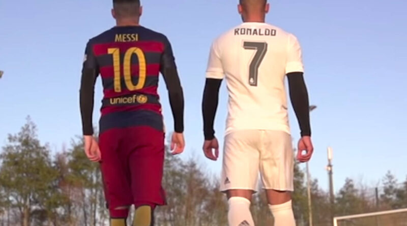 Ronaldo i Messi